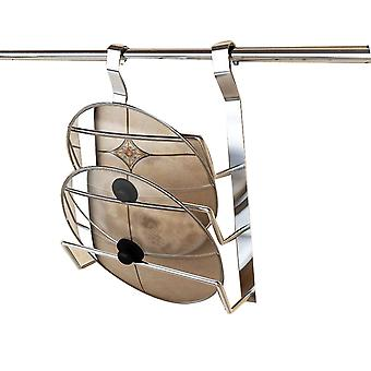 Homemiyn Three-layer Stainless Steel Pot Cover Rack