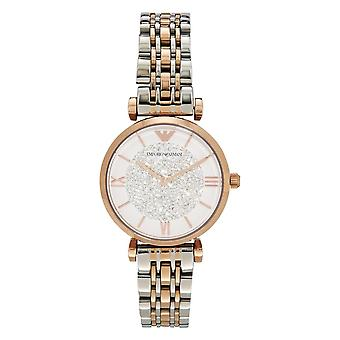 Armani Ar1926 Two Tone Stainless Steel Ladies Watch