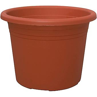 Blooming Weather Cylindro Plant Pot 25cm - Terracotta - Pack of 5