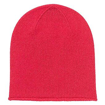 Johnstons of Elgin Roll Trim Jersey Hat - Lotus Pink