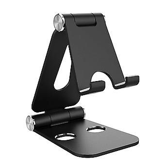 Stojak na tablet Simpeak, podwójny składany aluminiowy stojak uniwersalny uchwyt na stojak na telefon kompatybilny z ipho