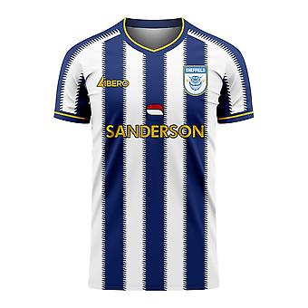 Sheffield 2020-2021 Home Concept Football Kit (Libero) - Adult Long Sleeve