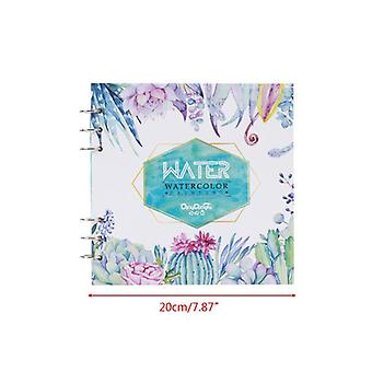 Professional 20 Sheets Painted Water Color Painting Book