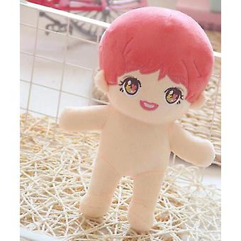 22cm Doll Clothes For Kpop Doll Hat Plush- Soft Skirt Sweater Play House