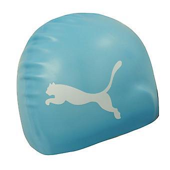 Puma Swim Cap One Size Unisex Smooth Swimming Hat Blue 052873 02 A15