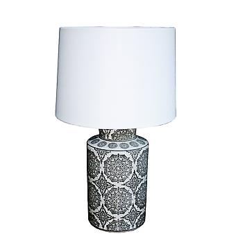 Black Mandala Lamp 50.8cm