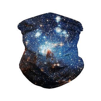 YANGFAN Men's Starry Sky Print Outdoor Mask