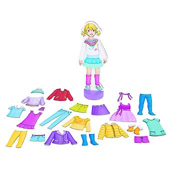 Goki 58531 dress up doll, mixed