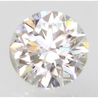 Sertifioitu 0,50 karat D VS1 pyöreä brilliant parannettu luonnollinen löysä timantti 5,01mm