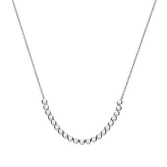 Diamonfire Bezel Set Half Tennis Necklace N4399