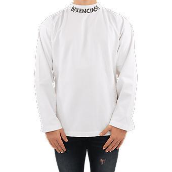 Balenciaga Curve T L/S White 646035TJV969040 Top