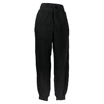 AnyBody Kvinder's Jogger Slim Leg Sort A345519