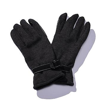 Men Leisure Gloves, Warm Fleece, Polyester Adjustable, Sports Knit Mittens