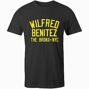 ويلفريد بينيتيز الملاكمة أسطورة تي شيرت