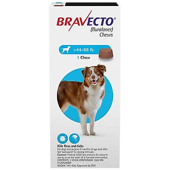 Bravecto Chews For Dogs Flea And Tick Pet Dog Cat Fluralaner 20-40kg