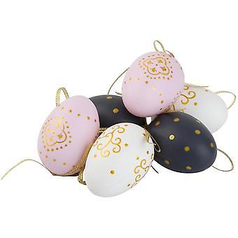Påsk ägg Orient 6 st Dekoration Cult Design