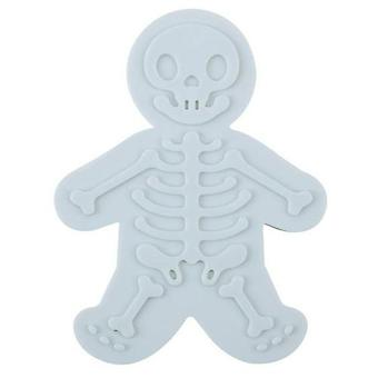 1pcs 3d Plastic Gingerbread Skeleton Mold Pastry Dough Cutter