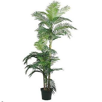 Kunstig gylden stok Areca Palm x3 180cm