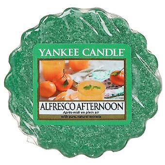 Yankee candle alfresco afternoon wax tart