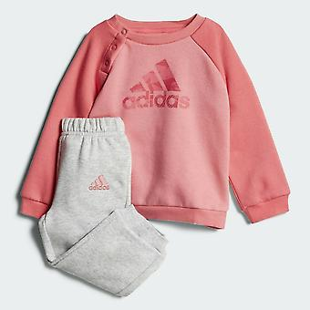Adidas Infant Girls Sports Crew Tracksuit - CF7377