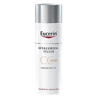 Eucerin Hyaluron-Filler CC Crema spf15+ 50 ml