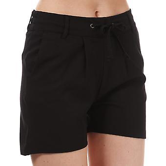 Women's Jacqueline de Yong New Pretty Jersey Shorts in Black
