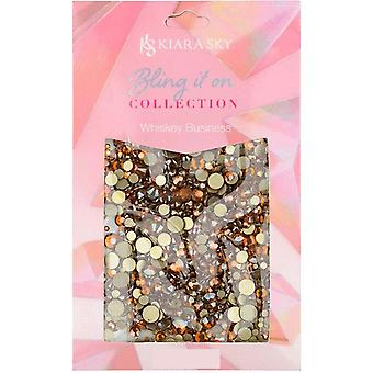Kiara Sky  Bling It On Rhinestones Collection - Whiskey Business (50 Pieces) (KSR09)