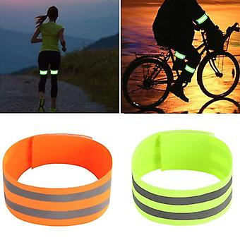 2pcs Reflective Bands Safety Flashing Armband Belt