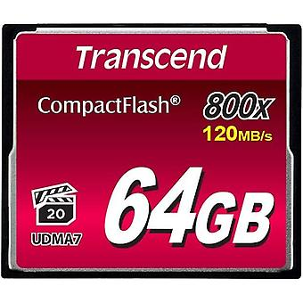 Wokex 64GB CompactFlash 800 Speicherkarte TS64GCF800