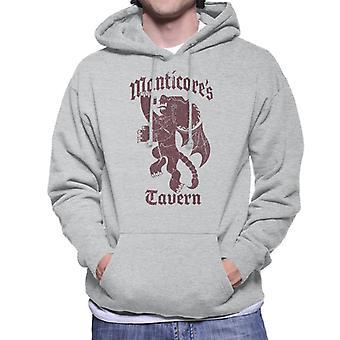 Pixar Verder The Manticore Manticores Tavern Men's Sweatshirt met capuchon