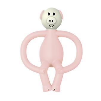 Matchstick Monkey Children Teether Cartoon Pig Teether