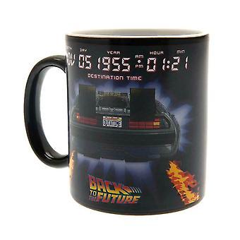 Back To The Future Delorean Heat Change Mug
