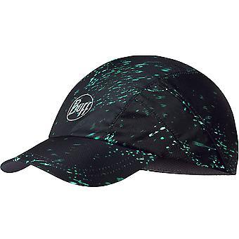 Buff Adults Pro Run Speckle Outdoor Running Baseball Cap Hat - Noir - S/M