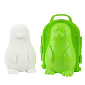 Schneeball-Maschine Kinder's Winter Outdoor-Spielzeug Schneeball Clip zu spielen Schnee Spielzeug Werkzeug Ente/Herz/Pinguin/kreisförmige Schneeball Clip