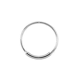Nase-Reifen-Ring mit Ärmel endlose weiß gold