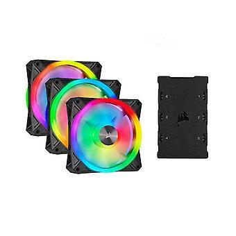 Corsair Ql120 RGB Triple Fan Kit med Belysning Node Core