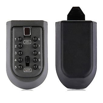 Key Safe Box Zeď Závěsný klíč Kód Zámek Zesílení Železný Klíč Box