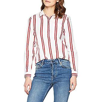 Springfield 2.1.g.r.Camisa Rayas 2 Si T-Shirt, Red (Gama Rojos 65), 40 (Size Manufacturer: 36) Woman