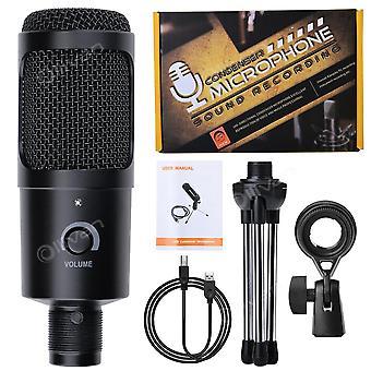 Recording Usb Condenser Microphone Professional Studio Microphones For Pc