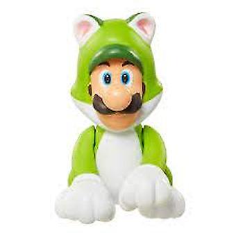 Limited Articulation Cat Luigi (Nintendo) 2.5 Inch Figure