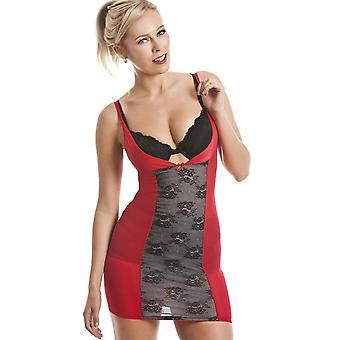Camille Red kroppen passa Under byst kropp Shaper ljus kontroll Full underklänning
