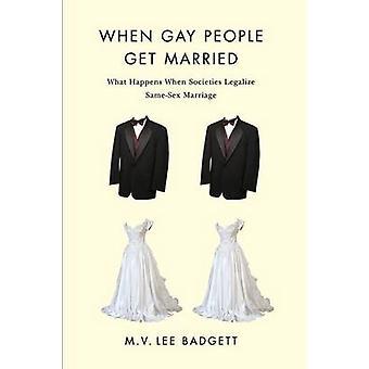 ゲイの人々 を得る m. v. リー Badgett によって結婚した時