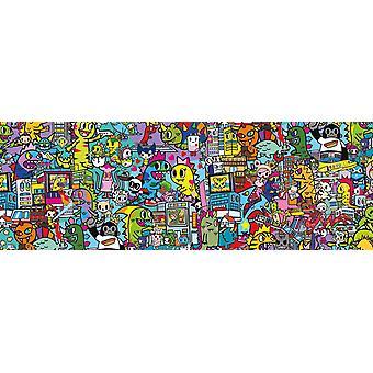Clementoni Tokidoki Panorama Jigsaw Puzzle (1000 Pieces)