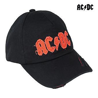 Hattu ACDC Musta (58 cm)