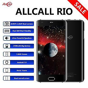 Allcall Rio Dual Back Cam 3g 5.0 Calowy telefon komórkowy Ips 1gb Ram 16gb Rom 8mp Hd