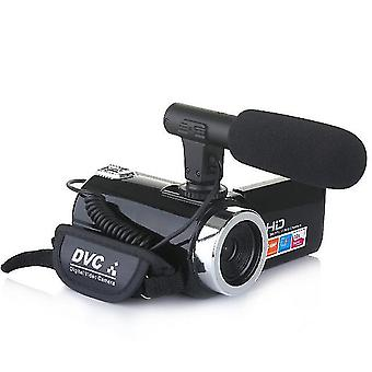 Hd videokamera hjemmevideokamera med 18x digital zoom 24mp pixels nattesyn udendørs sport vlog