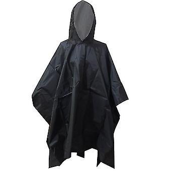 3 في 1 في الهواء الطلق العسكرية معطف المطر معطف المطر رجال معطف المطر النساء المظلات من المطر