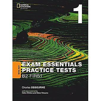 EXAM ESSENTIALS:CAMBRIDGE B2� F IRST PRACT TEST 1 W/KEY-REV 20
