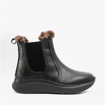 Heavenly Feet Kindred Ladies Ankle Boots Black