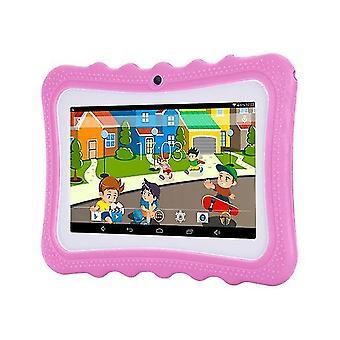 Enfants tablette pc 7 pouces android 8.0 quad core 4gb rom 1gb ram wifi double caméra hd multifonctionnelle